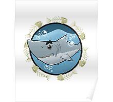 Happy shark Poster