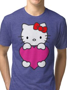 Hello Kitty Tri-blend T-Shirt