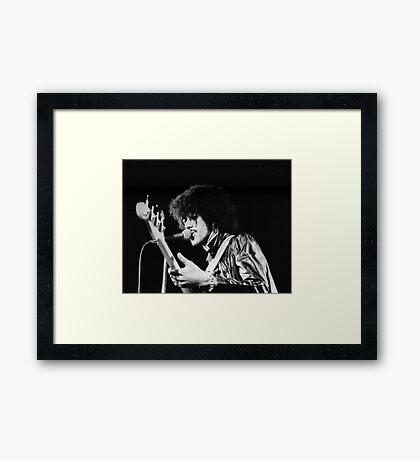 Phil Lynott in London Framed Print