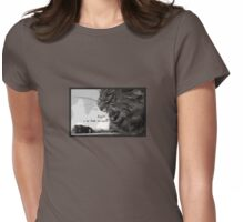 Rawr! U Be Feedin' Me Suun?!? Womens Fitted T-Shirt