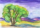 A tree in summer by Elizabeth Kendall