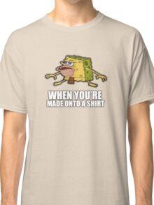 Caveman Spongebob (SpongeGar) Shirt Classic T-Shirt