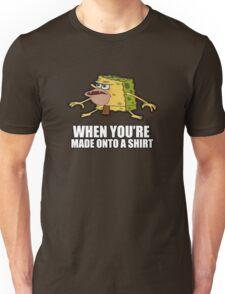 Caveman Spongebob (SpongeGar) Shirt Unisex T-Shirt