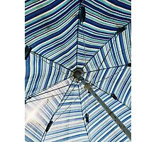 An Hypnotized Umbrella Photographic Print