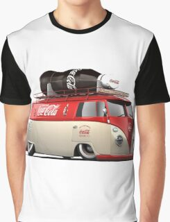 vw-red-volkswagen Graphic T-Shirt
