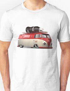 vw-red-volkswagen Unisex T-Shirt