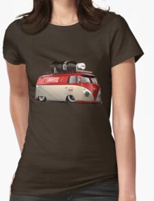 vw-red-volkswagen Womens Fitted T-Shirt