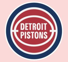 DETROIT PISTONS BASKETBALL RETRO One Piece - Short Sleeve