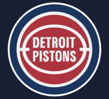 DETROIT PISTONS BASKETBALL RETRO Kids Tee