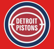 DETROIT PISTONS BASKETBALL RETRO One Piece - Long Sleeve