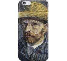 Vincent Van Gogh - Self-Portrait With Straw Hat -Van Gogh - Self-Portrait  iPhone Case/Skin