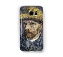 Vincent Van Gogh - Self-Portrait With Straw Hat -Van Gogh - Self-Portrait  Samsung Galaxy Case/Skin