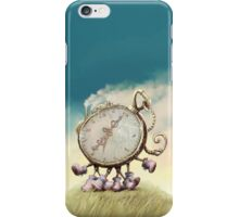 Cute Walking watch, wonderland iPhone Case/Skin