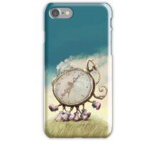 Cute Walking watch, wonderland iPhone Case/Skin