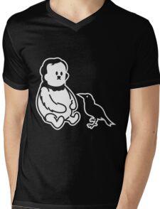 Winnie the Poe - Poe, der Bär Mens V-Neck T-Shirt