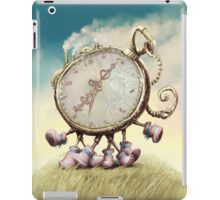 Cute Walking watch, wonderland iPad Case/Skin