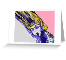 HEAD WOUND Greeting Card