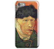 Vincent Van Gogh - Self Portrait With Bandaged Ear iPhone Case/Skin