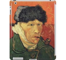 Vincent Van Gogh - Self Portrait With Bandaged Ear iPad Case/Skin