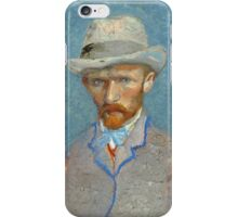 Vincent Van Gogh - Self Portrait - Van Gogh - Self Portrait  iPhone Case/Skin