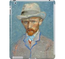 Vincent Van Gogh - Self Portrait - Van Gogh - Self Portrait  iPad Case/Skin