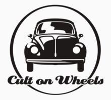 Beetle - Cult on Wheels (black) Baby Tee