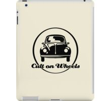 Beetle - Cult on Wheels (black) iPad Case/Skin