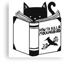 How to Kill a Mockingbird Canvas Print