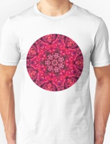 Kaleidoscope No. 1 - Red Unisex T-Shirt