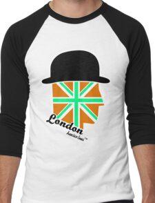 London Gentleman by Francisco Evans ™ Men's Baseball ¾ T-Shirt