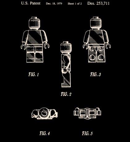 Lego Man Patent 1979 Page 1 Sticker