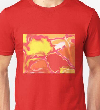Squazzle Original Digital Abstract Art Design Light Unisex T-Shirt