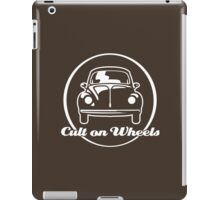 Beetle - Cult on Wheels (white) iPad Case/Skin