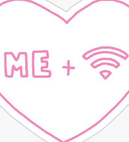 I love WIFI Sticker