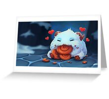 Poro Hearts Greeting Card