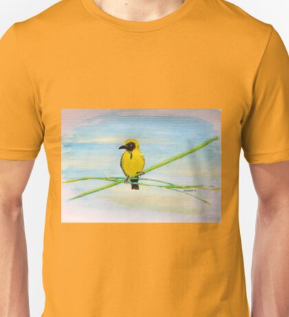 Geelvink / Southern Masked Weaver Unisex T-Shirt