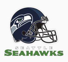 SEATTLE SEAHAWKS FOOTBALL (2) Baby Tee