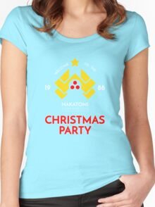 Nakatomi Corp Christmas Party 1988 T-Shirt Women's Fitted Scoop T-Shirt