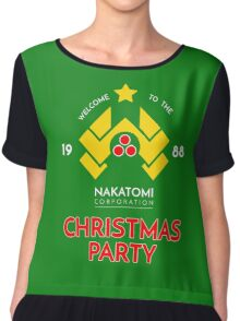 Nakatomi Corp Christmas Party 1988 T-Shirt Chiffon Top