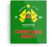 Nakatomi Corp Christmas Party 1988 T-Shirt Metal Print