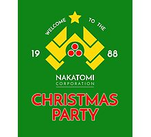 Nakatomi Corp Christmas Party 1988 T-Shirt Photographic Print