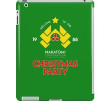 Nakatomi Corp Christmas Party 1988 T-Shirt iPad Case/Skin