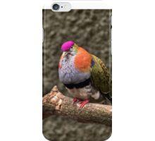 Purple Crowned Pigeon iPhone Case/Skin