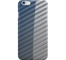 Gray Security Shutter With Shadow iPhone Case/Skin