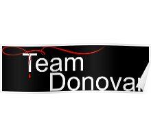 Team Donovan White Poster