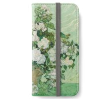 Vincent Van Gogh - Roses - Van Gogh - Roses  iPhone Wallet/Case/Skin