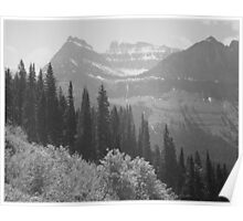 Ansel Adams - Glacier National Park Poster