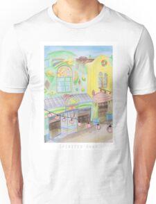 Spirited Away Background Design Unisex T-Shirt
