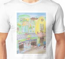 Spirited Away Background Design Unisex T-Shirt