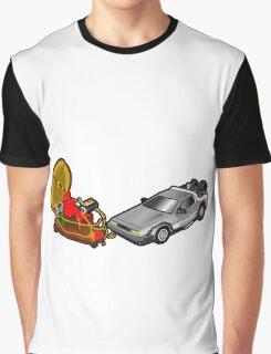 Zeitmaschinenschaden - crash in the fourth dimension Graphic T-Shirt